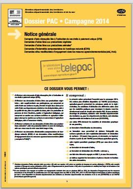 Notice telepac 2014