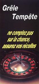 Années 90-Visuel dépliant 2 volets-Roulette