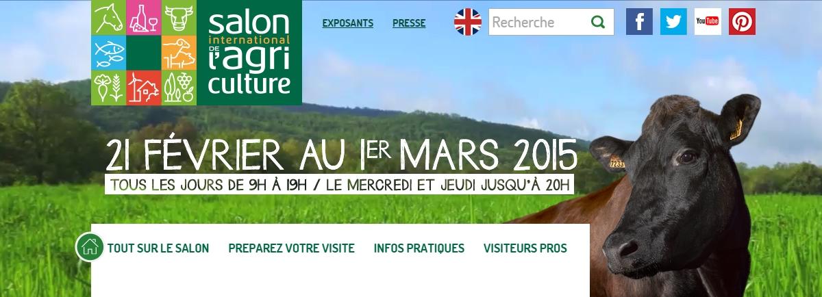 Salon de l 39 agriculture et sima 2015etoile assurance for Programme salon agriculture 2015