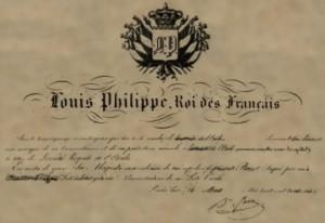 Ordonnance 26-03-1836